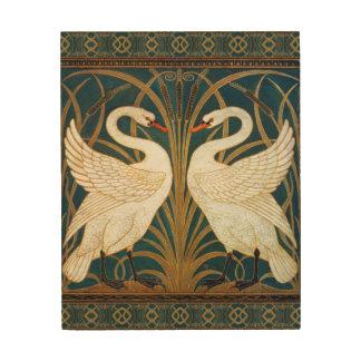 Walter Crane Swan, Rush And Iris Art Nouveau