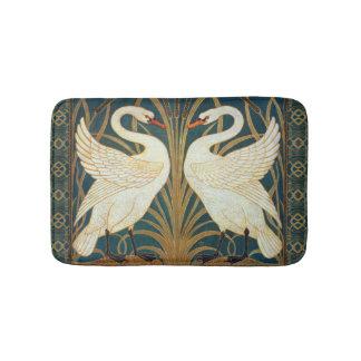 Walter Crane Swan, Rush And Iris Art Nouveau Bath Mat