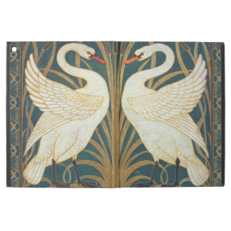 "Walter Crane Swan, Rush And Iris Art Nouveau iPad Pro 12.9"" Case"