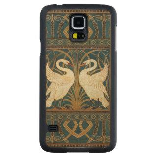Walter Crane Swan, Rush And Iris Art Nouveau Maple Galaxy S5 Slim Case