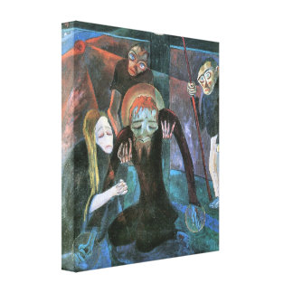 Walter Gramatte - The cross Stretched Canvas Prints