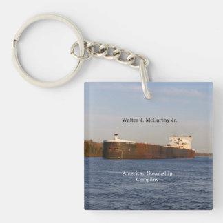 Walter J. McCarthy Jr. acrylic key chain