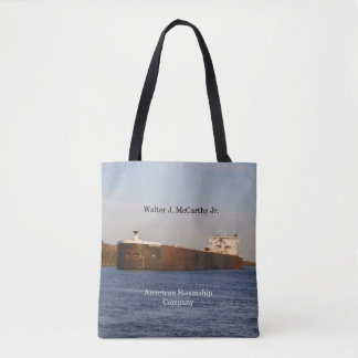 Walter J. McCarthy Jr. all over tote bag