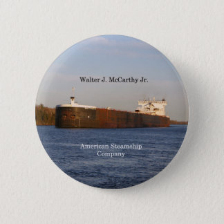 Walter J. McCarthy Jr. button