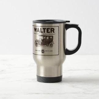 Walter vintage advertisement 1907 travel mug