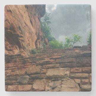 Walters Wiggles Zion National Park Utah Stone Beverage Coaster