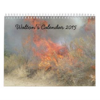 Walton's Calendar 2015