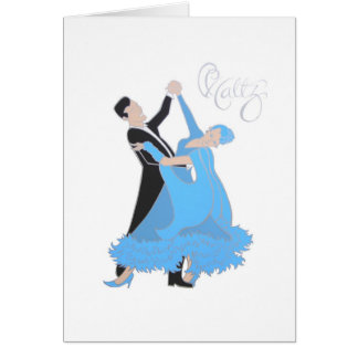 Waltz Greeting Card