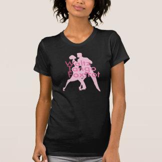 Waltz Tango Foxtrot (WTF?) Black T-Shirt