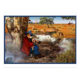 Waltzing Matilda Postcard