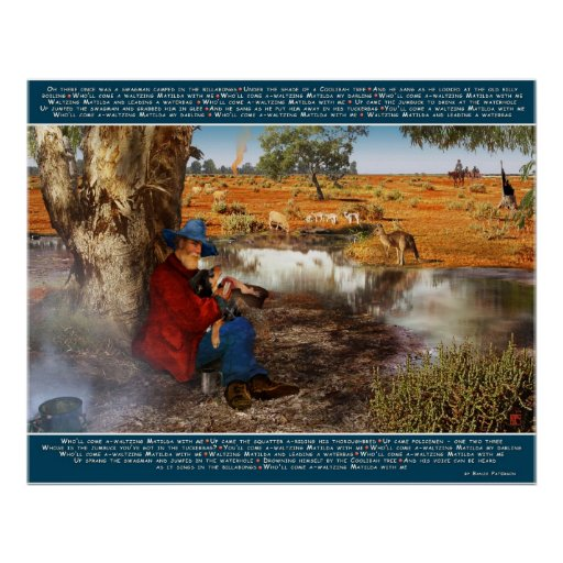 Waltzing Matilda Poster