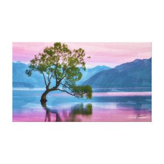 Wanaka Tree New Zealand Canvas Print