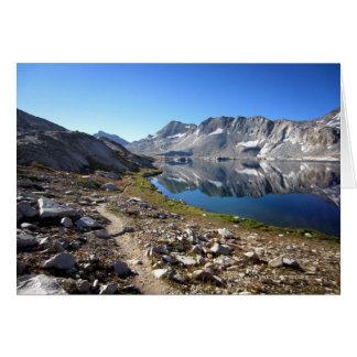 Wanda Lake 2 - John Muir Trail Card