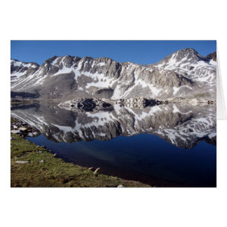 Wanda Lake, High Sierras, California Card