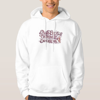 Wanded And Extremely Dangerous Graphic - Pink Hoodie