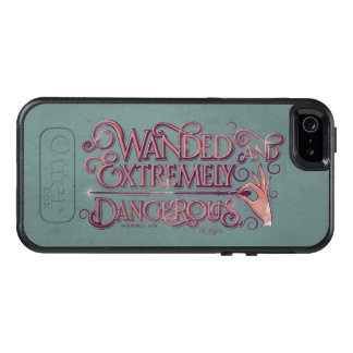 Wanded And Extremely Dangerous Graphic - Pink OtterBox iPhone 5/5s/SE Case