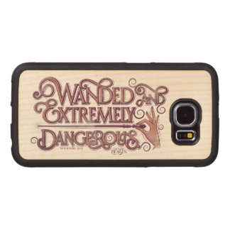 Wanded And Extremely Dangerous Graphic - Pink Wood Phone Case