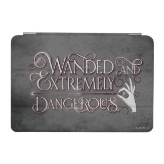 Wanded And Extremely Dangerous Graphic - White iPad Mini Cover