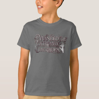 Wanded And Extremely Dangerous Graphic - White T-Shirt