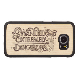Wanded And Extremely Dangerous Graphic - White Wood Phone Case