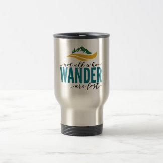 Wander Outdoors Stainless Steel 15 oz Travel  Mug