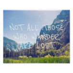 Wander Quote - Kings Canyon | Poster