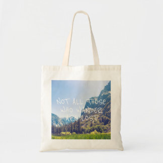 Wander Quote - Kings Canyon | Tote Bag