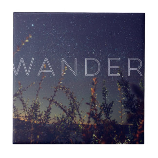 Wander Under The African Sky Tile