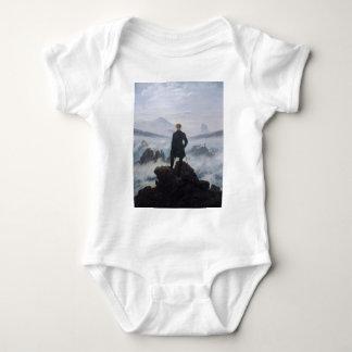 Wanderer above the Sea of Fog Baby Bodysuit
