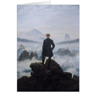 Wanderer above the Sea of Fog Card