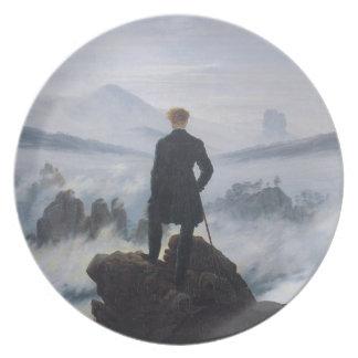 Wanderer above the Sea of Fog Dinner Plate
