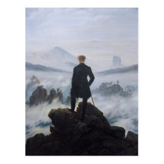 Wanderer above the Sea of Fog Postcard