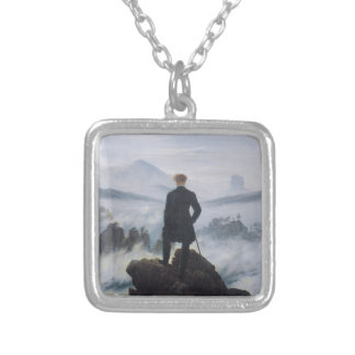 Wanderer above the Sea of Fog Silver Plated Necklace