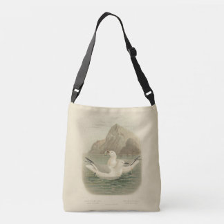 Wandering Albatrosses and Gulls Crossbody Bag