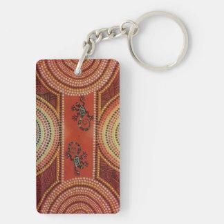 Wandering Geckos Keychain