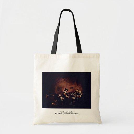 Wandering Peepshow Tote Bag