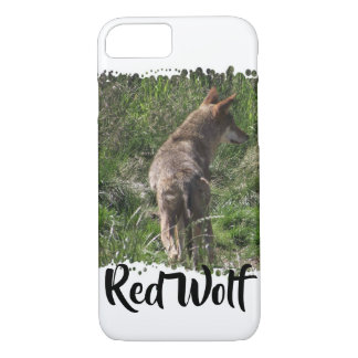 Wandering Red Wolf iPhone 8/7 Case