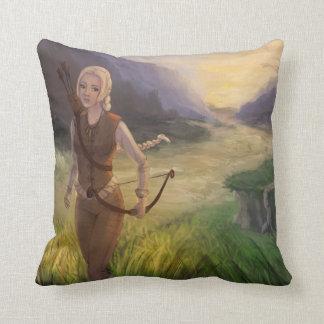 Wandering the Land Fantasy Art Cushions
