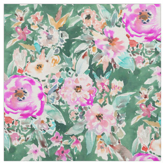 WANDERLUSH Colorful Floral Fabric