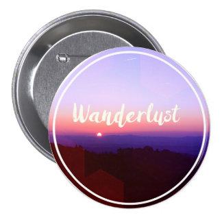 Wanderlust 7.5 Cm Round Badge