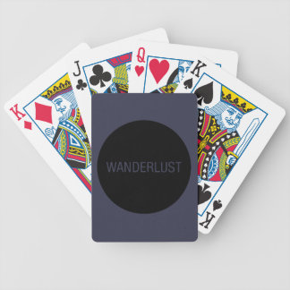 WANDERLUST BICYCLE PLAYING CARDS