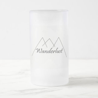 Wanderlust coffee mug