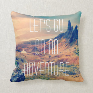 Wanderlust Cushion