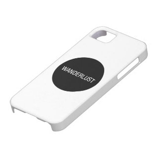 WANDERLUST iPhone 5 COVER