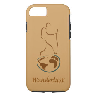 Wanderlust iPhone 7 tough case