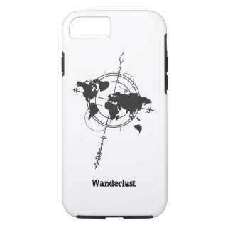 Wanderlust Map iPhone 8/7 Case