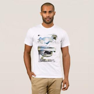 Wanderlust Ocean Motorcycle Beach Escape, T-Shirt