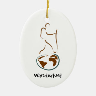 Wanderlust Ornament