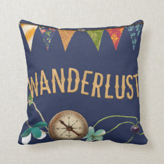 Wanderlust Pillow