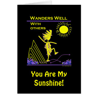 Wanders Well With Others Card